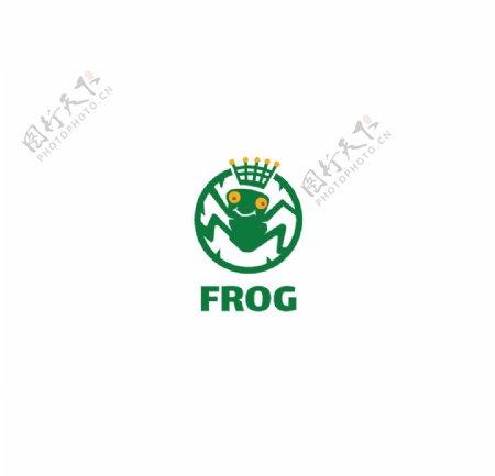 frog青蛙标志图片
