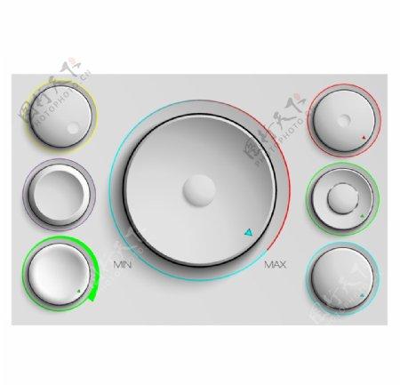 金属音量调节按钮图片