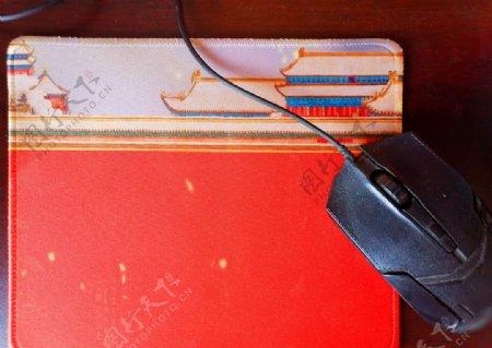 中国风鼠标垫与鼠标图片