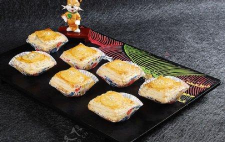 豫菜金枕榴莲酥图片