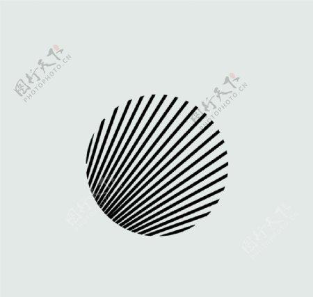 圆圈艺术圆图标简笔画图片