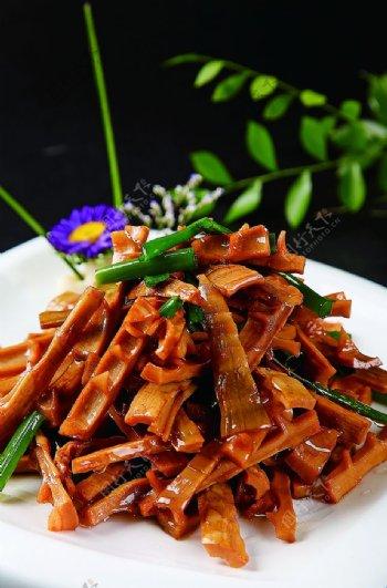 特色菜油焖春笋图片