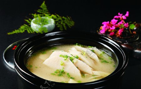 特色菜原味笋锅图片