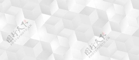 简约立方体几何平铺底纹背景图片