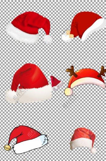 手绘卡通圣诞节帽子图片