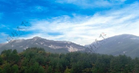 山区自然风景图片