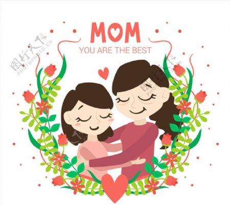 母亲节贺卡图片