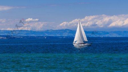 帆船海图片