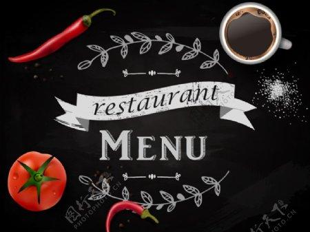 创意餐馆菜单图片
