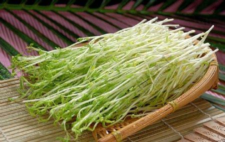 火锅配菜豌豆苗图片