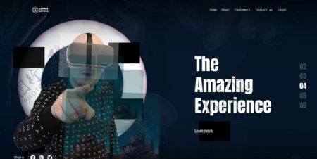 大气网页设计图片