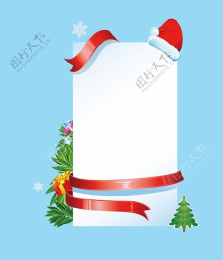 圣诞公告栏图片