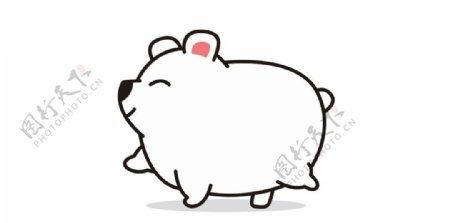 小狗熊卡通狗熊可爱图片