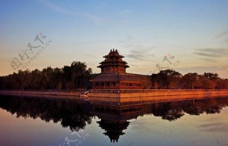 北京紫禁城故宫博物馆角楼图片