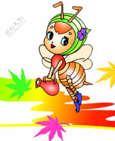 小蜜蜂图片