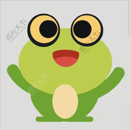 矢量青蛙图片