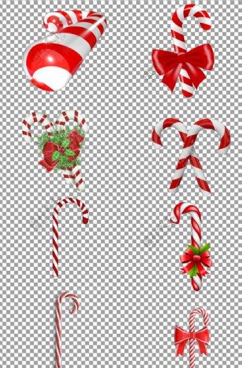圣诞节棒棒糖拐杖糖图片