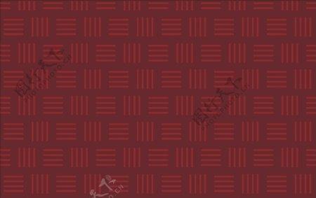 深红色条纹效果图片