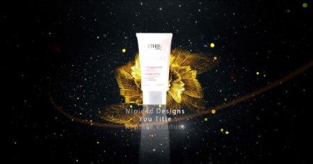 ae模板化妆品视频
