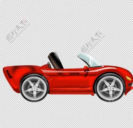 卡通跑车图片