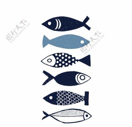海底世界各种鱼图片