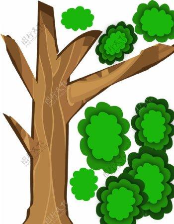 立体大树图片