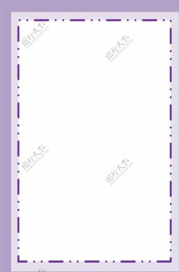 紫色条纹边框背景素材图片