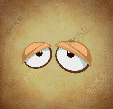 卡通眼睛图片