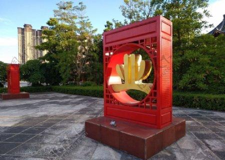 揭阳文化广场图片