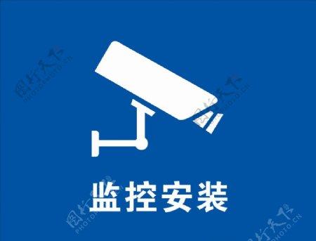 监控安装图片