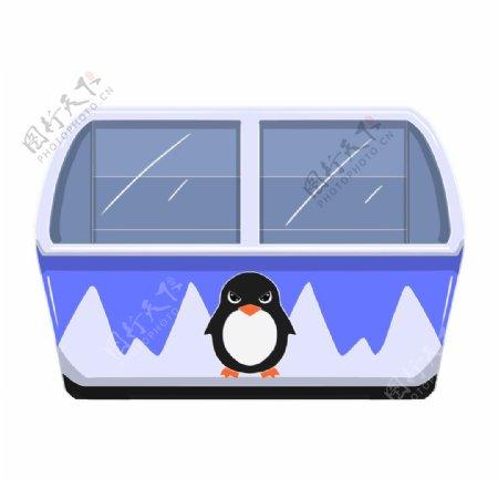 企鹅插画素材图片