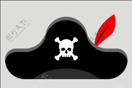 海盗帽子图片