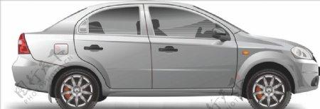 小汽车矢量素材图片