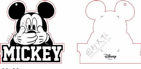 米奇米尼吊牌MICKEY图片
