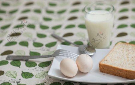精致的美食早餐图片