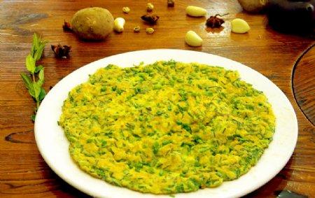 韭菜煎鸡蛋图片