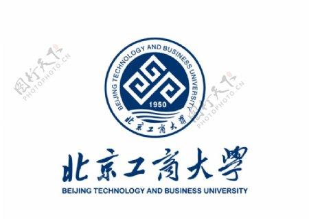 北京工商大学校徽LOGO图片