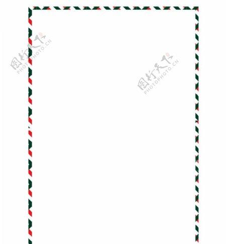 彩色圣诞节条纹边框图片