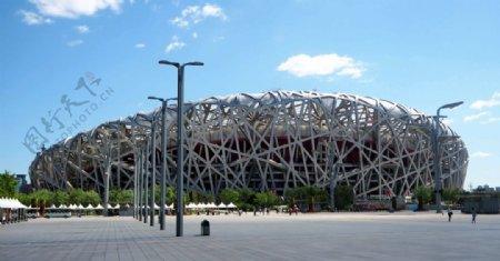 鸟巢体育场图片