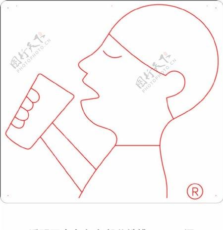 喜茶吊装霓虹灯小男孩logo图片