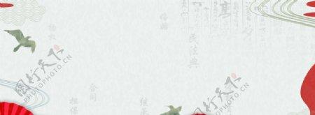 古典背景板民法典中国风图片