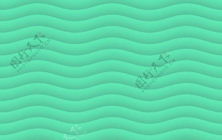 薄荷绿波纹图片