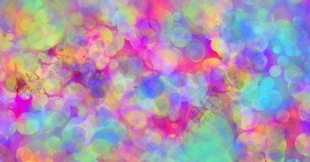 气泡梦幻背景图片