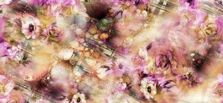 梦幻女装花型图片