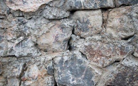 石头墙图片