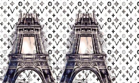 巴黎铁搭定位图片