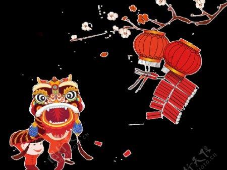 灯笼中秋国庆新年春节灯笼图片
