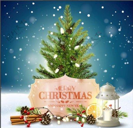 圣诞节海报图片