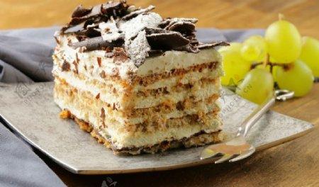 提拉米苏蛋糕图片