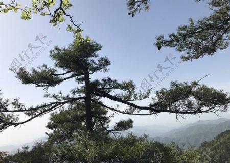 白云山风景图片